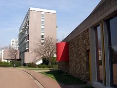 Maison du Bresil (anthi tzakou) Tags: paris france architecture bresil modernism lecorbusier maison cite mimoa maisondubresil anthitzakou
