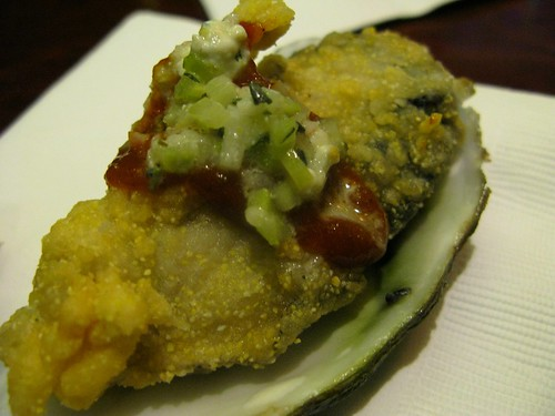 Fried oyster