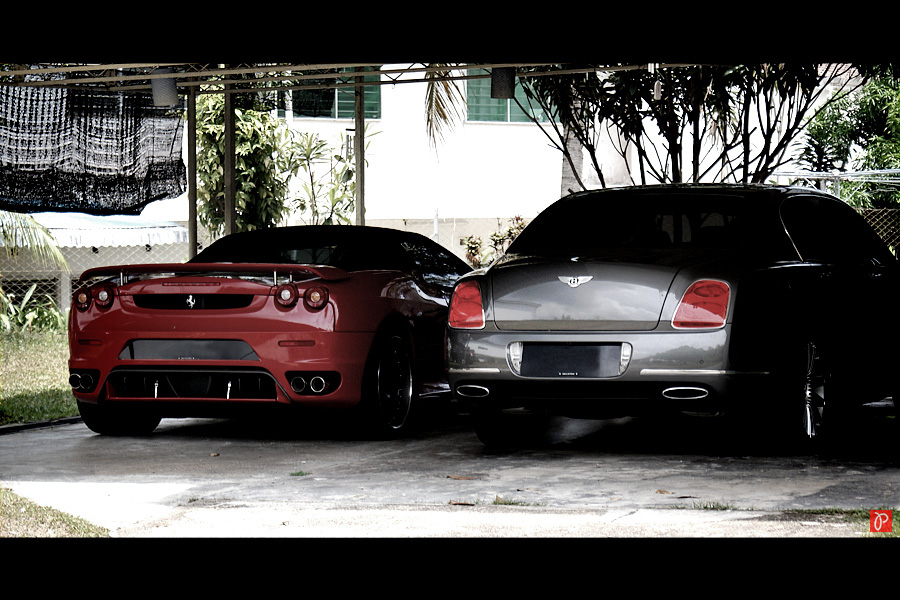 Ferrari & Bentley