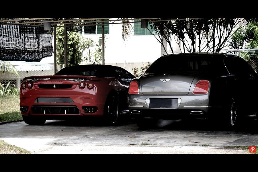 Ferrari & Bentley