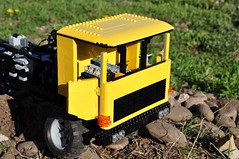 Trial Truck: DAC 16.550-9 (Sergiu94) Tags: auto road truck automobile power lego offroad 4x4 roman engine 4wd off technic dac portal functions rc trial motorized v10 axle axles 16550 offroadvehicles trialtruck sergiu94