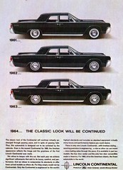 1961, 1962 & 1963 Lincoln Continental Sedan (coconv) Tags: pictures auto door old classic cars car sedan vintage magazine advertising cards photo flyer automobile post image photos antique album postcard 4 ad picture continental images 63 64 advertisement vehicles photographs card photograph postcards lincoln vehicle autos collectible collectors brochure 1962 automobiles 62 1961 1964 dealer 1963 61 prestige