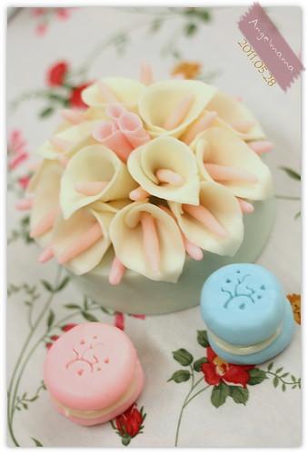 天使媽媽蛋糕皂教學 040