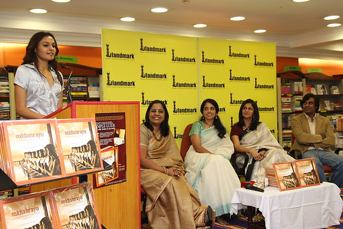 Book launch at Landmark