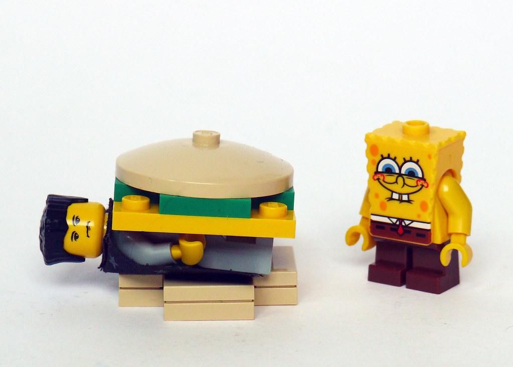 Spongebob squarepants games hamburger