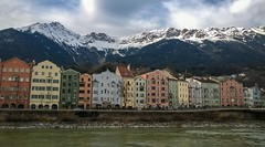 Classic Innsbruck Shot (Andy.Gocher) Tags: andygocher nokia lumia 925 europe austria innsbruck river buildings architecture mountains snow clouds cityscape