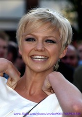 Hannah Spearritt (iron_smyth48) Tags: portrait people woman celebrity film smile face female hair carpet star eyes blonde actress premiere celeb