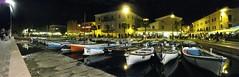 bardolino night (ferrari enrico) Tags: lago garda natura barche case verona cielo panoramica luci acqua paesaggi notte vacanze citt veneto bardolino piazzeitaliane barchegaleggiante