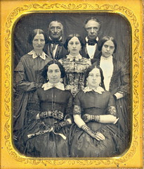 All In The Family 1850 (Mirror Image Gallery) Tags: victorianfamily daguerreoytype
