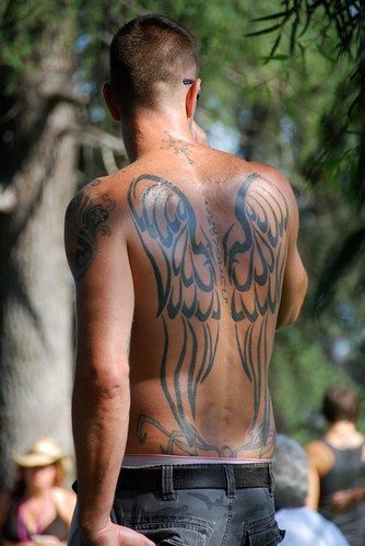 gay pride tattoos. Gay Pride Weekend 2009: