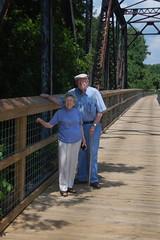 Parents at Peak Bridge