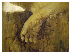 Las manos . Del artista
