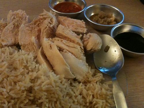 Homemade Hainanese Chicken Rice for National Day