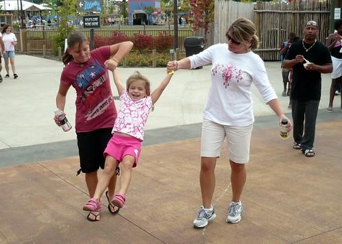Jordan and Jen Give Alana a Swing