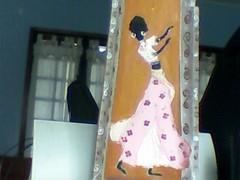 Imagem 012 (A cor do acaso) Tags: ceramica cores artesanato jardim decora cor telas acrilico telha africanas senegalesa senegalesas