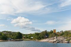 Boat trip (JarkkoS) Tags: blue sea summer sky white water finland island nagu suomenlahti nauvo d700 2470mmf28g utterholmen