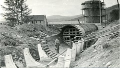 Canaan Hydro Penstock Construction 1926 (PSNH) Tags: old water river construction energy vermont dam newhampshire nh hydro infrastructure historical powerplant generation vt renewable connecticutriver canaan hydroelectric 1926 penstock psnh publicserviceofnewhampshire weststewartstown eversourceenergy