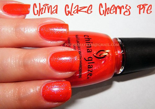 China Glaze Cherry Pie
