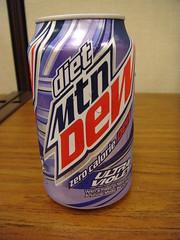 Diet UltraViolet Mountain Dew