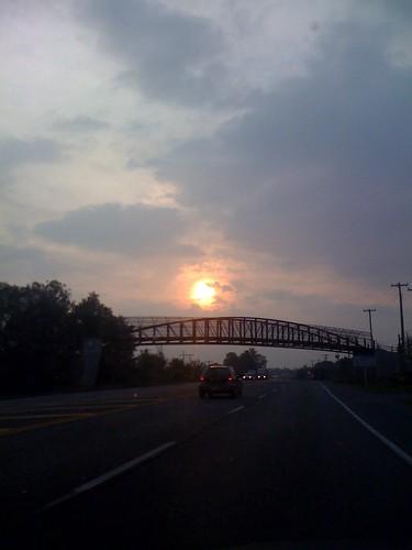 Hot, hazy, humid at 7 am