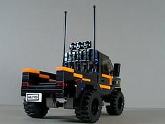 Dodge Ram 3500 Rally Truck (Ricecracker.) Tags: truck lego fig rally mini figure dodge minifig ram minifigure 3500 minifigscale
