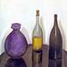 Falk, Robert (1886-1958) - 1912 Still Life: Bottles and a Jug (Museum Abramtsevo, Russia)