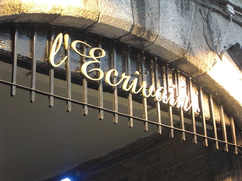 Dinner at L'Ecrivain