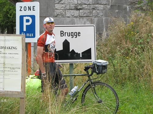 Arrival at Brugge