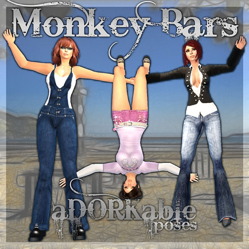 aDORKable Poses_ MonkeyBarsHQ