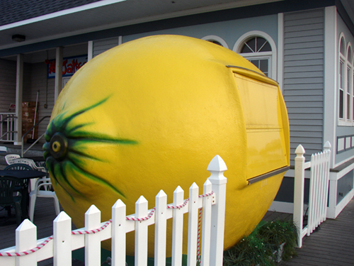 The lemon is CLOSED