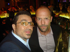 @ckc1ne finally gets to hang with Jason Statham GQ Men Of The Year 2009 awards
