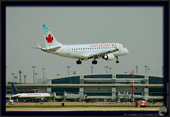 Air Canada ERJ-175 (The Chicken Works) Tags: dfw embraer aircanada erj175 foundersplaza cfeki