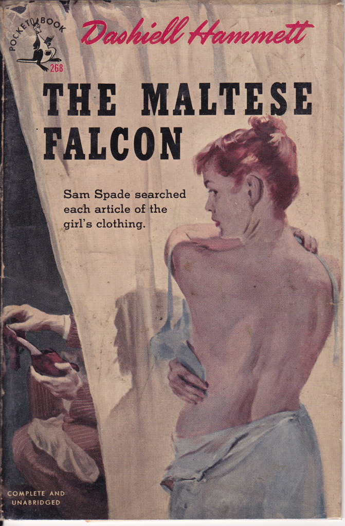 The maltese falcon Dashiell Hammett.