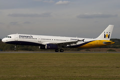 G-OZBR - Monarch Airlines - Airbus A321-231 (A321) - Luton - 090924 - Steven Gray - IMG_9533