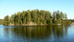 Island in Browns Tract Pond (Upstate Dave) Tags: adirondacks brownstractponds