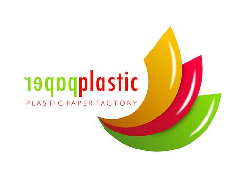 Plastic Paper Factory Logo Tasarım Design