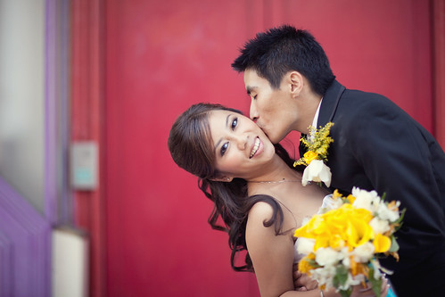 Cute Kissing Picture