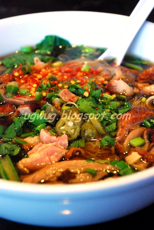 Sliced Roast Duck Noodles