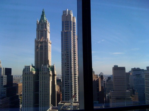 Did I mention that @FastCompany has one of the most beautiful offices in New York? View out my window this week: