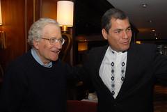 Londres, entrevista con Noam Chomsky.