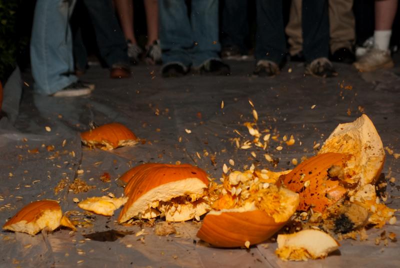 Day 20: Pumpkin Drop