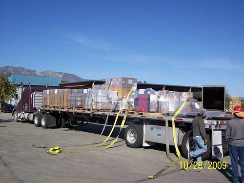 BendPak / Ranger garage equipment on the truck