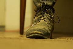 Booted (Sans_Sanity) Tags: dusty carpet boot riding equestrian