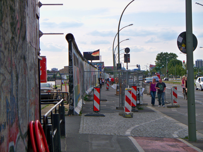 Berlin Wall Fragment, July 2009