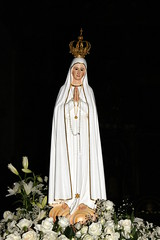 The 'New' And Famous Virgin Mary Statue Newly Arrived And Situated In Funchal Cathedral, Madeira. Oct. 2009. (reghorse) Tags: church statue catholic cathedral mary religion jesus christianity virginmary madeira funchal magdalene virginbirth sonya700 madeirafunchaloct2009