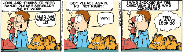 Garfield: Lost in Translation, November 13, 2009