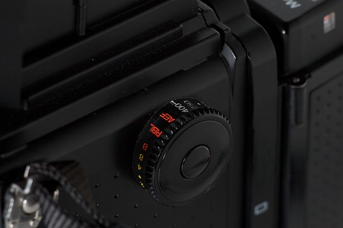 Mamiya RZ67 Pro II Shutter Dial