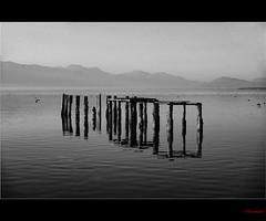 Perdition Bridge by +ThanatoS+ (+ThanatoS+) Tags: bw d70 macedonia ohrid cb makedonija thanatos  ohridlake sigma1850dc  mcct