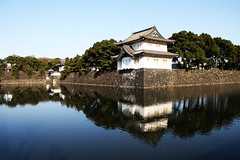 Reflections of the Imperial Palace, Tokyo, Japan (fabriziogiordano23) Tags: travel holiday japan reflections tokyo asia niceshot palace imperial nippon imperialpalace palazzo riflessi viaggi japon giappone aasia vacanza kokyo autofocus imperiale beautifulphoto palazzoimperiale flickraward estremit astoundingimage flickrestrellas worldtrekker fabbow uniqueaward