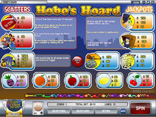 free Hobo's Hoard slot mini symbol